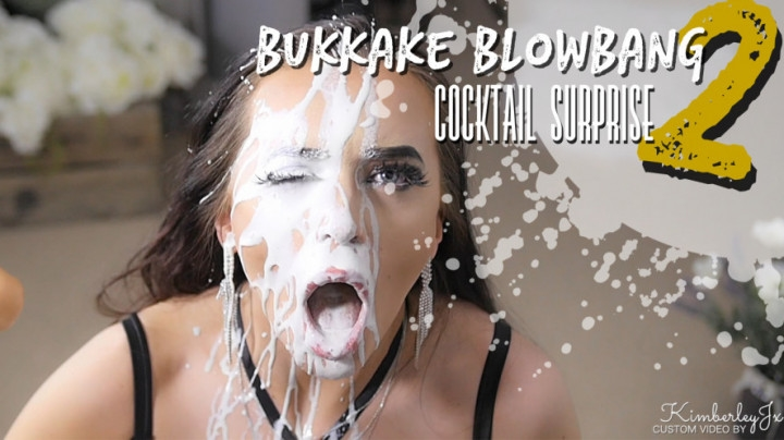 [Full HD] kimberleyjx bukkake blowbang 2 cocktail surprise - KimberleyJx - ManyVids | Blow Jobs, Cumshots - 2,4 GB