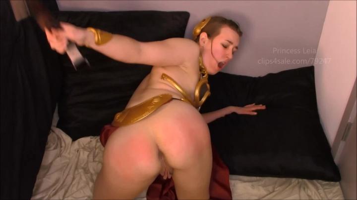 Slave Leia Cosplay Porn