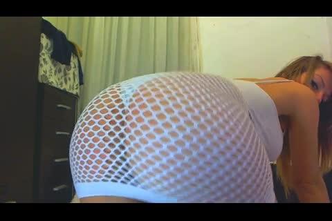 "[LQ Quality - Alesia Anoook ] ""ManyVids Porn"" alesia anoook fishnet dress cum show toy   | Big Boobs..."