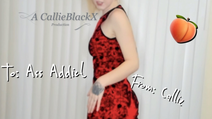[Full HD Porn] callieblackx for the ass addict you - CallieBlackX - ManyVids Porn | Goddess Worship,...