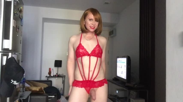 """[Full HD Video] """"JustineTS"""" justinets rosy red clitty / (ManyVids) 