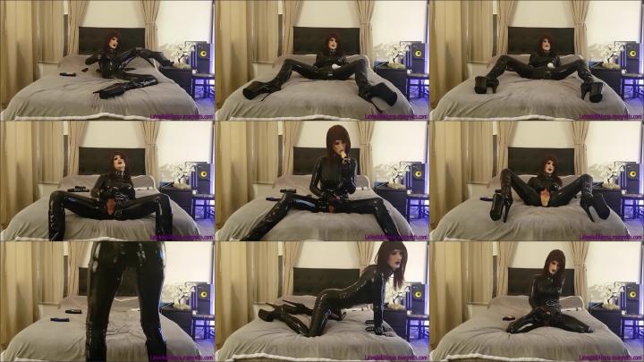 "[Full HD Video] ""Latexdoll Alessa"" latexdoll alessa all shiny and horny / (ManyVids) | Trans, Fetish..."