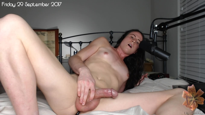 """[Full HD Video] """"Lilymeadows"""" lilymeadows cumming from anal stimulation handsfree / (ManyVids) 