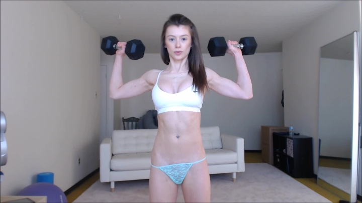 [Full HD Porn] violetfoxy strong girlfriend - VioletFoxy - ManyVids Porn | Powerful Woman, Abs, Bice...