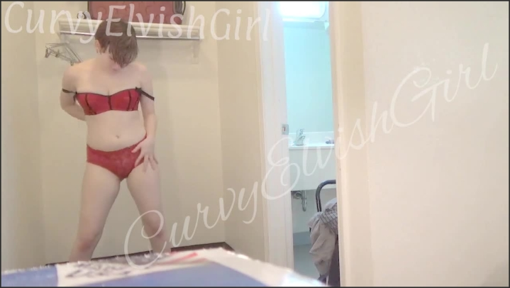 Curvyelvishgirl Sexy Dancing Striptease