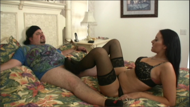 [Full HD] jerky girls fishnet footjob - Jerky Girls - ManyVids | Size - 356,9 MB