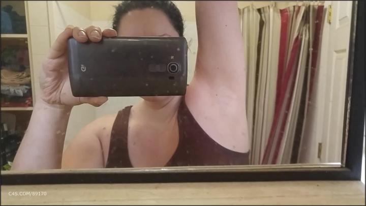 [Full HD] booty4u armpit fetish - Booty4U - ManyVids   Size - 239,9 MB