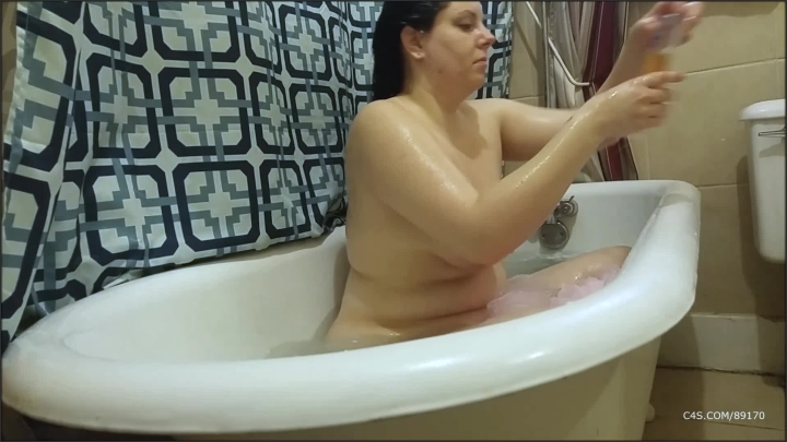 [Full HD] booty4u bath time - Booty4U - ManyVids   Size - 1,2 GB