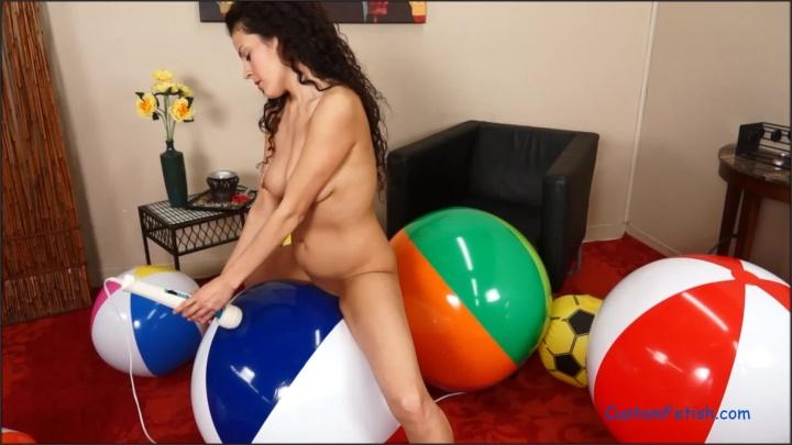 [Full HD] custom fetish alejandras sexy beach ball romp and pop - Custom Fetish - ManyVids | Size - 332,8 MB
