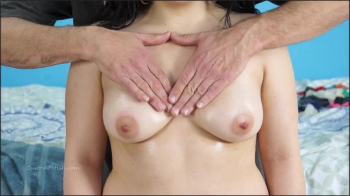 [Full HD] custom fetish alina gets a breast massage - Custom Fetish - ManyVids | Size - 150,8 MB