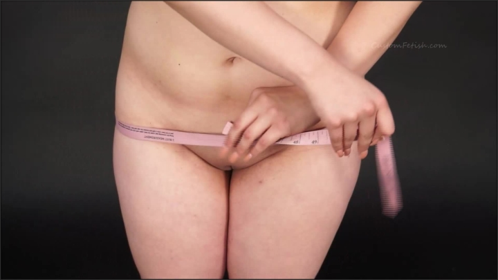 [Full HD] custom fetish alina measures herself 01 - Custom Fetish - ManyVids | Size - 104 MB