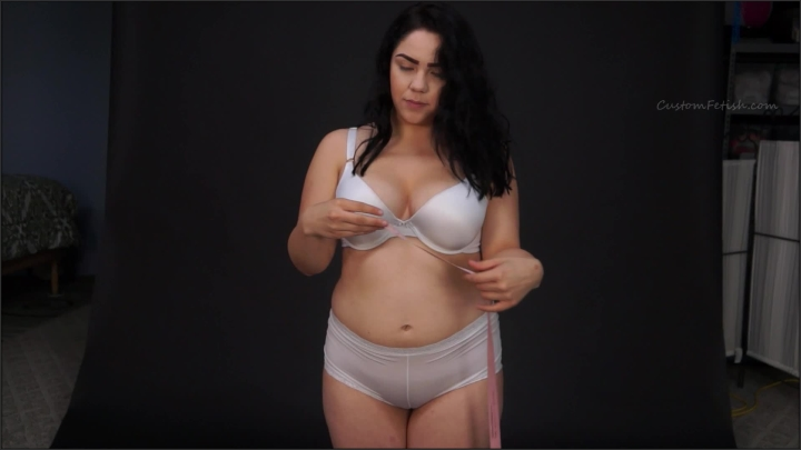 [Full HD] custom fetish alina measures herself 02 - Custom Fetish - ManyVids | Size - 141,2 MB