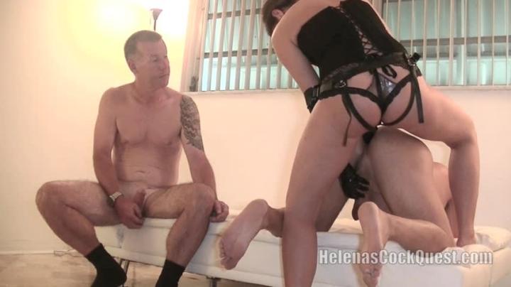 "[HD Video] ""Helenas Cock Quest"" helenas cock quest my cuckold husband 7  pegging a slave / (ManyVids) 