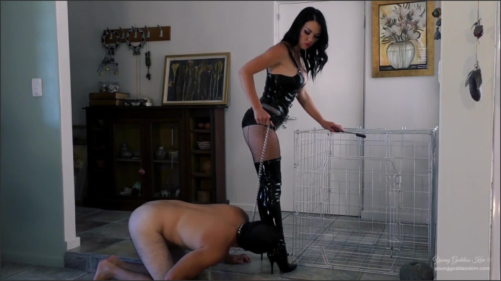 [Full HD] young goddess kim caged boot bitch - Young Goddess Kim - Clips4Sale | Size - 500,8 MB