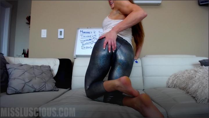 [Full HD] missluscious teasing my intern in yoga pants - MissLuscious - iwantclips | Size - 1,1 GB