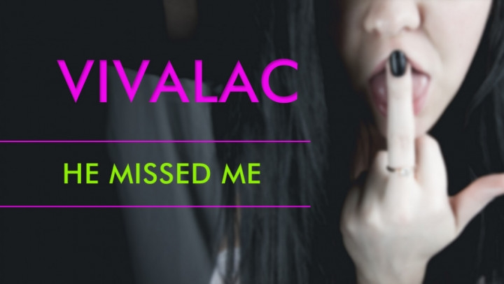 [HD] vivalac he missed me - vivalac - ManyVids | Pussy Spreading, Brunette, Amateur - 624,4 MB