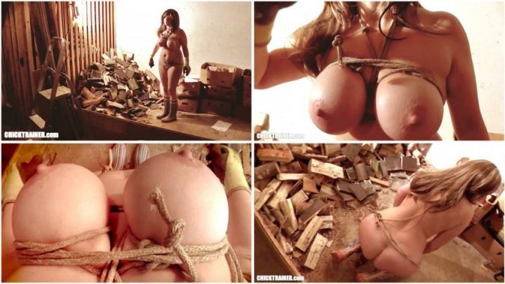[Full HD] britney swallows bondage tits throatfucking - Britney Swallows - ManyVids   Tit Play, Bondage, Tit Busting - 1,7 GB