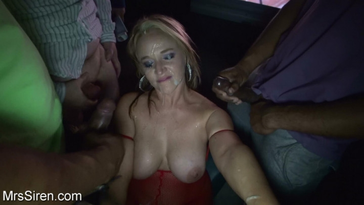 [HD] dee siren wife surrounded by strokers bukkake - Dee Siren - Amateur | Bukkake, Blow Jobs - 1 GB