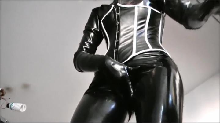 [Full HD] goddess celine sweat latex loser - GoddessCeline - Size - 278,1 MB