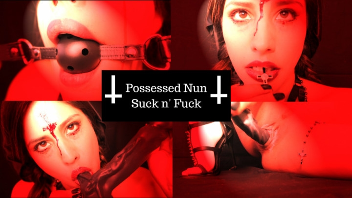 1 $ Tariff [Full HD] lunarlux possessed nun  suck n fuck - LunarLux - ManyVids | Gothic, Brunette - 1,8 GB