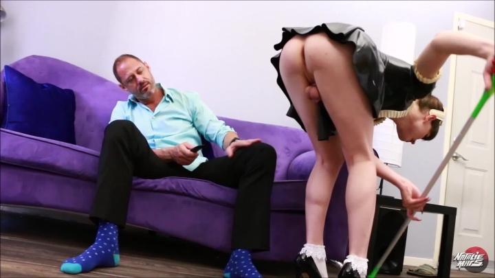 [Full HD] natalie mars chastity maid service - Natalie Mars - Amateur | Sissy Training, Trans - 981,5 MB
