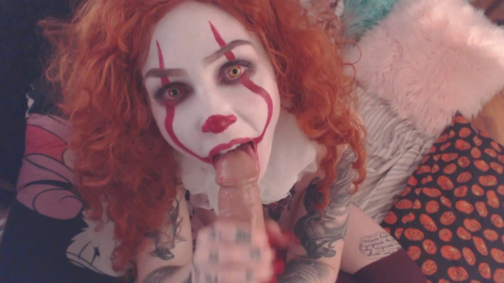 [Full HD] slutty spice float for me bb pennywise blowjob - Slutty Spice - ManyVids | Blowjob, Clowns - 452,7 MB