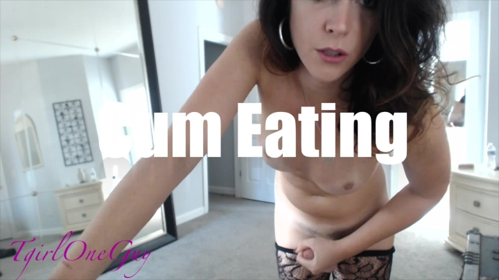 [Full HD] tgirloneguy filthy cum eating instruction - TgirlOneGuy - ManyVids   Cum Eating Instruction, Cei - 874,1 MB