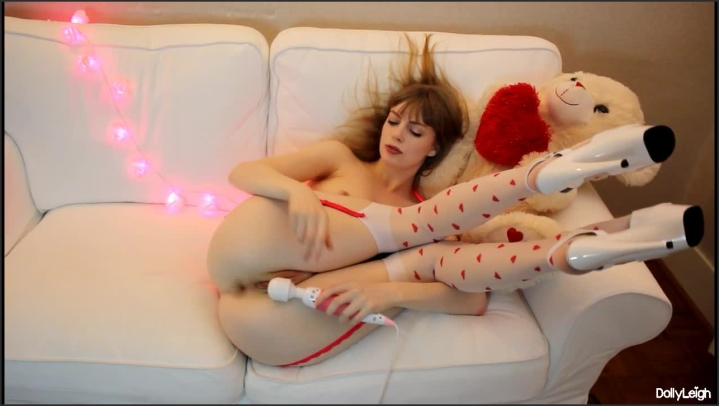 [HD] dolly leigh edging for my valentine - dolly leigh - Amateur   Size - 498,1 MB