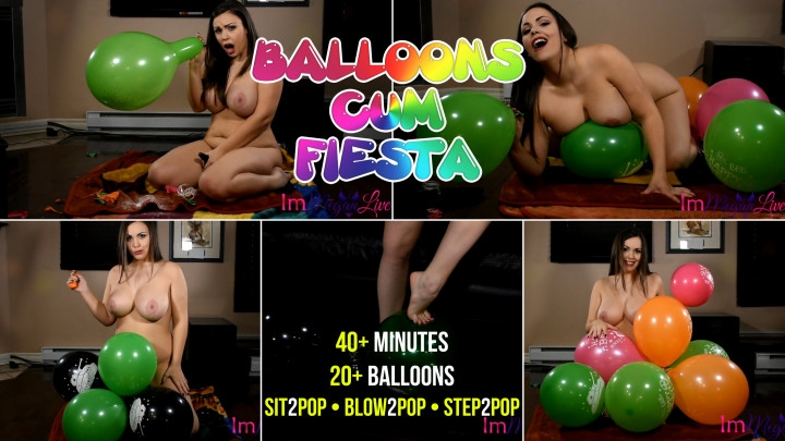 [Full HD] immeganlive balloons cum fiesta - ImMeganLive - Amateur | Balloons B2p, Inflatable Blow Fetish, Big Tits - 4,8 GB