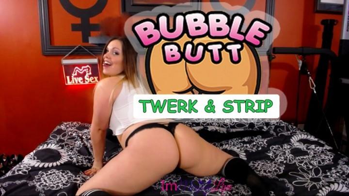 [SD] immeganlive bubble butt twerk amp strip - ImMeganLive - Amateur | Striptease, Ass Worship, Ass Shaking - 208,6 MB