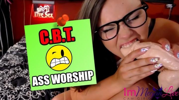 [SD] immeganlive cbt amp ass worship - ImMeganLive - Amateur | Ballbusting, Femdom - 263,3 MB
