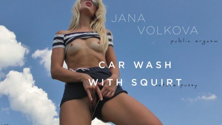 [Full HD] janavolkova car wash with squirt hd - Janavolkova - Amateur | Orgasms, Masturbation - 307,6 MB
