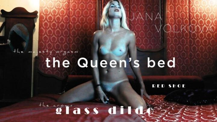 [Full HD] janavolkova the queens bed hd - Janavolkova - Amateur | Glass Dildos, Fingering, Squirt - 510,7 MB
