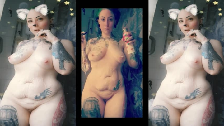 [Full HD] tattooedmilfymama green goddess horny cum shower show - TattooedMilfyMama - Amateur | Fucking, Big Toys - 754,1 MB