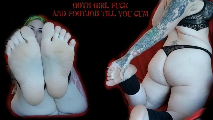 [Full HD] tattooedmilfymama hd goth fuck and footjob till you cum - TattooedMilfyMama - Amateur   Gothic, Feet, Fetish - 1,6 GB