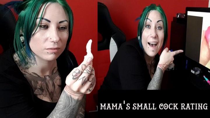 [Full HD] tattooedmilfymama mamas small cock rating - TattooedMilfyMama - Amateur | Gothic, Laughing - 370,7 MB