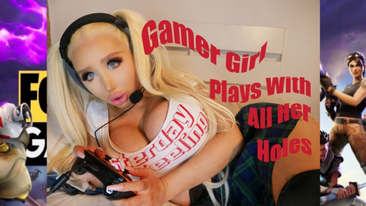 [Full HD] amandatoy gamer girl likes all her holes filled - amandatoy - Amateur | Anal Masturbation, Anal - 1,6 GB