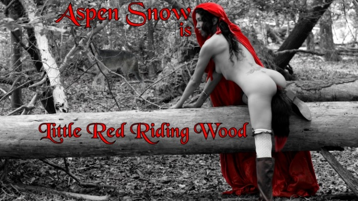 [Full HD] aspen snow public little red riding hood squirt - Aspen Snow - Amateur | Cosplay, Asian - 1,8 GB
