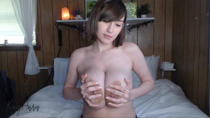 Big Tit Nipple Play