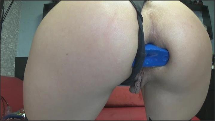 [HD] blackangel blue plug - blackangel - Amateur | Size - 34,4 MB