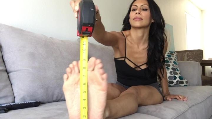 [HD] cassandracruz foot measuring - Cassandracruz - Amateur   Feet, Feet Fight, Foot Fetish - 456,4 MB