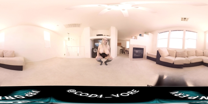 [4K Ultra HD] codi vore virtual reality bouncing boobs joi - Codi Vore - Amateur   Joi, Boob Bouncing, Huge Tits - 1,3 GB