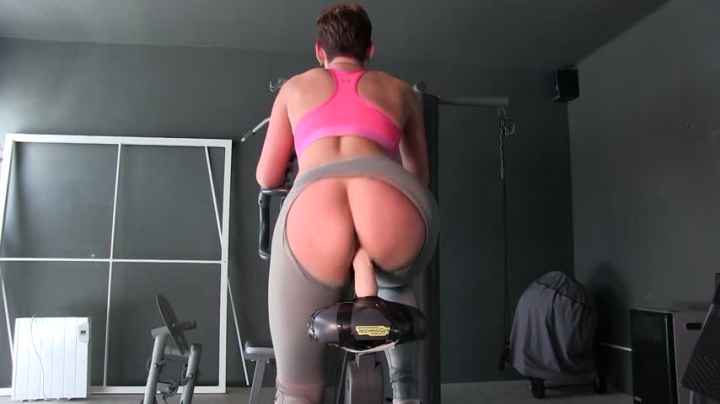 hannahbrooks exercise bike dildo ride xxx – HannahBrooks – Amateur | Huge Dildo, Fitness, Exerc…