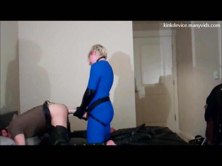 [HD] kinkdevice nyks sadistic peg 1st view - KinkDevice - Amateur | Pegging, Female Domination, Ballbusting - 374,7 MB