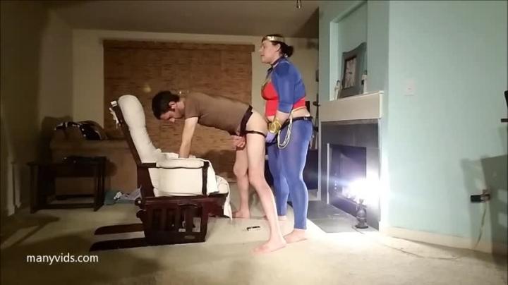 [Full HD] kinkdevice sarahs wonder peg - KinkDevice - Amateur   Female Domination, Cosplay, Strap-on - 539,2 MB