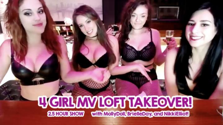 [HD] kittykatluna 4 girl mv loft takeover - KittyKatLuna - Amateur | Striptease, Girl Girl - 1,6 GB