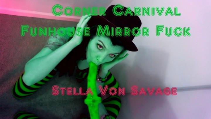 [HD] stella von savage corner carnival and funhouse mirror fuck - Stella Von Savage - Amateur | Blow Jobs, Halloween, Squirting - 1,5 GB