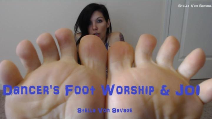 [Full HD] stella von savage dancers foot joi amp worship w countdown - Stella Von Savage - Amateur | Feet, Feet Joi - 1 GB