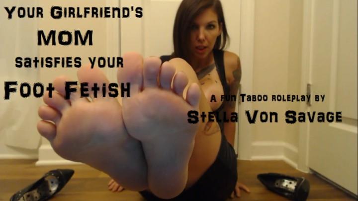 [Full HD] stella von savage gfs mom satisfies your foot fetish - Stella Von Savage - Amateur   Shoe Fetish, Foot Fetish, Feet Joi - 441,4 MB