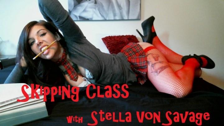 [HD] stella von savage skipping class im too horny daddy - Stella Von Savage - Amateur | School Girl, Tattoos - 310,5 MB